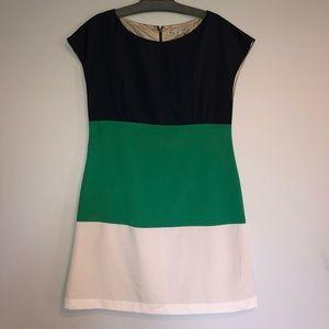 Eliza J Three Color Sleeveless Dress
